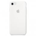 Силиконовый чехол для iPhone 7 Apple Silicone Case белого цвета