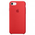 Силиконовый чехол для iPhone 7 Apple Silicone Case красного цвета (PRODUCT)RED