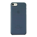 Чехол для iPhone 7 Ozaki O!coat 0.3 Jelly тёмно-синего цвета