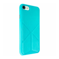Чехол для iPhone 7 Ozaki O!coat 0.3 + Totem Versatile голубого цвета