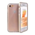 Прозрачный чехол для iPhone 7 Uniq Aeroporte золотого цвета