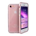 Прозрачный чехол для iPhone 7 Uniq Aeroporte розового цвета