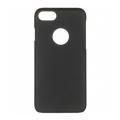 Чехол для iPhone 7 iCover Rubber чёрного цвета