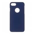 Чехол для iPhone 7 iCover Rubber тёмно-синего цвета