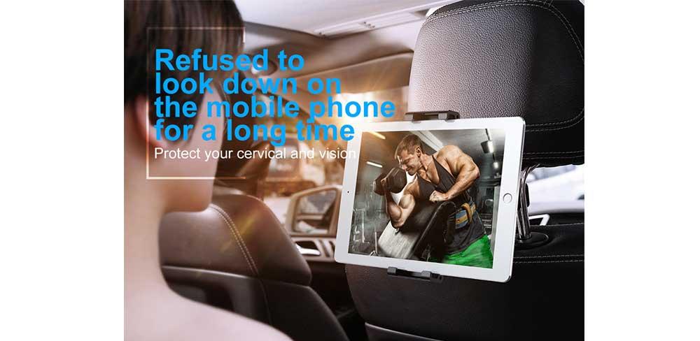 Автомобильный держатель Baseus Back Seat Car Mount Holder, чёрный-описание
