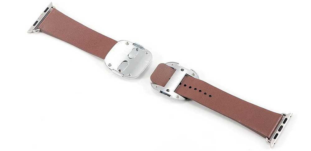Ремешок COTEetCI W5 NOBLEMAN для Apple Watch 38/40 мм, коричневый-описание