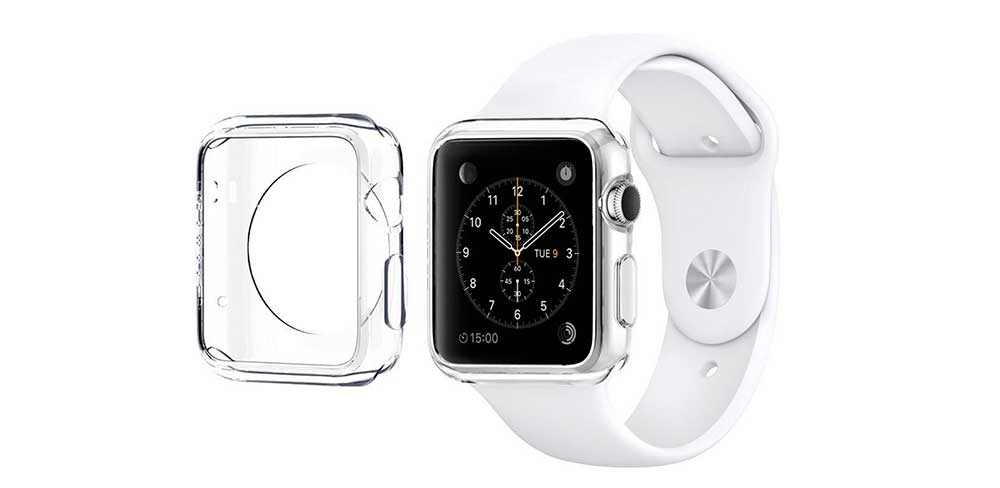 Чехол-Devia-Ice-Clear-Series-для-Apple-Watch-4,-40-mm,-прозрачный-описание