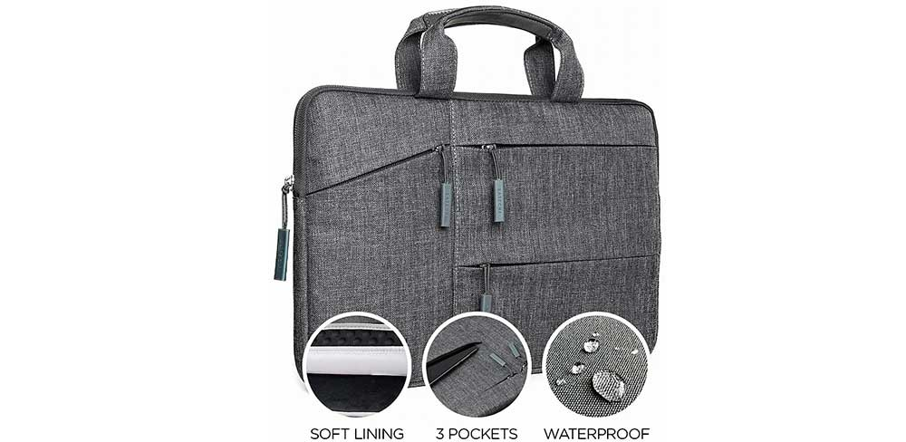 Сумка Satechi Laptop Case для ноутбуков до 13, серый-описание