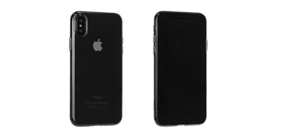Чехол Hoco Light Series TPU для iPhone X-описание