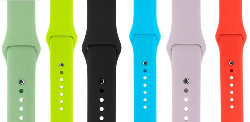 Описание спортивного ремешка для Apple Watch