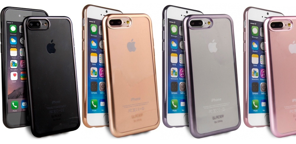 Описание чехла Uniq Glacier для iPhone 7 и 8 Plus