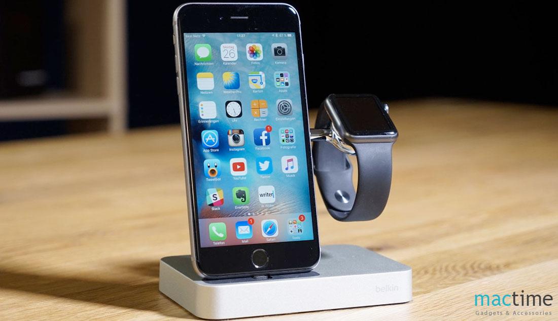 Док-станция для Apple Watch и iPhone Belkin Valet Charge Dock