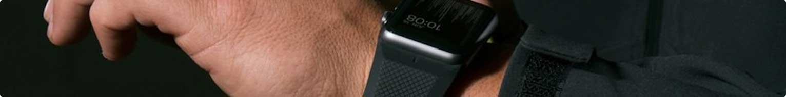 Каталог черных ремешков для Apple Watch