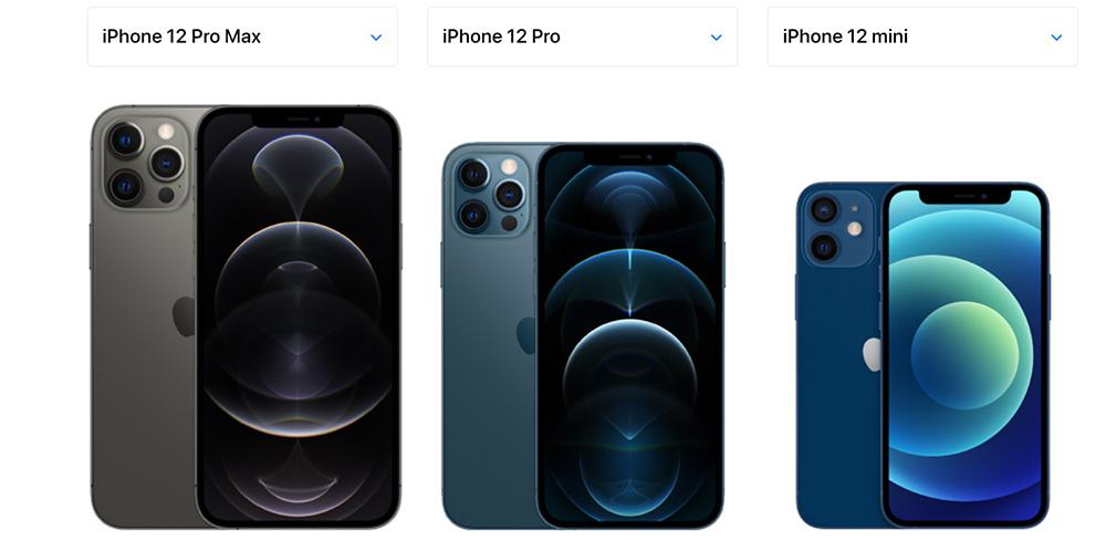 сравнение айфон