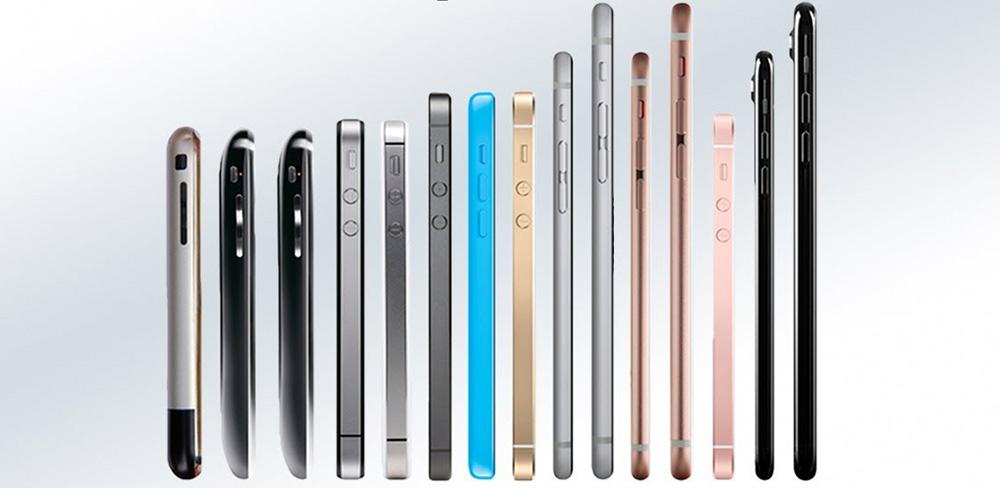 Сравнение телефонов от Apple