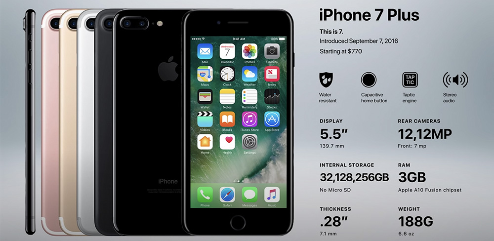 айфон 7 Plus