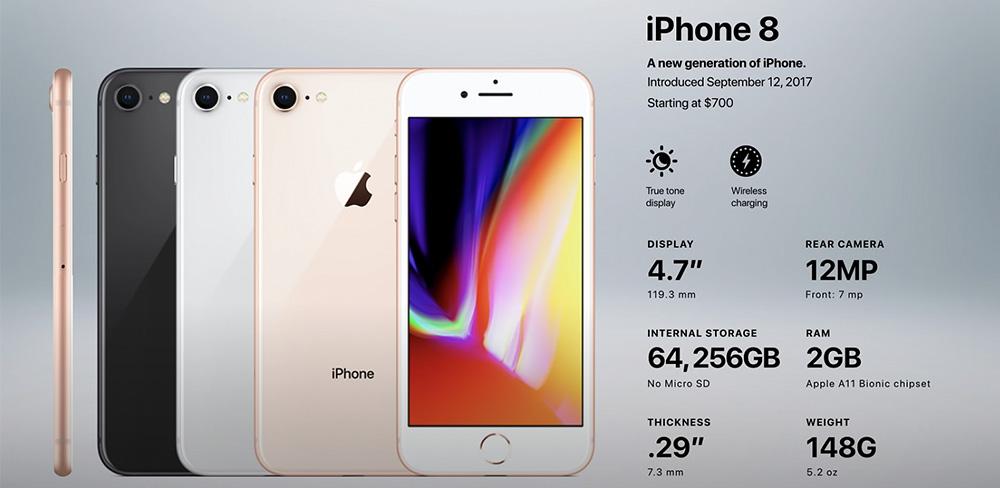 особенности-айфон-8
