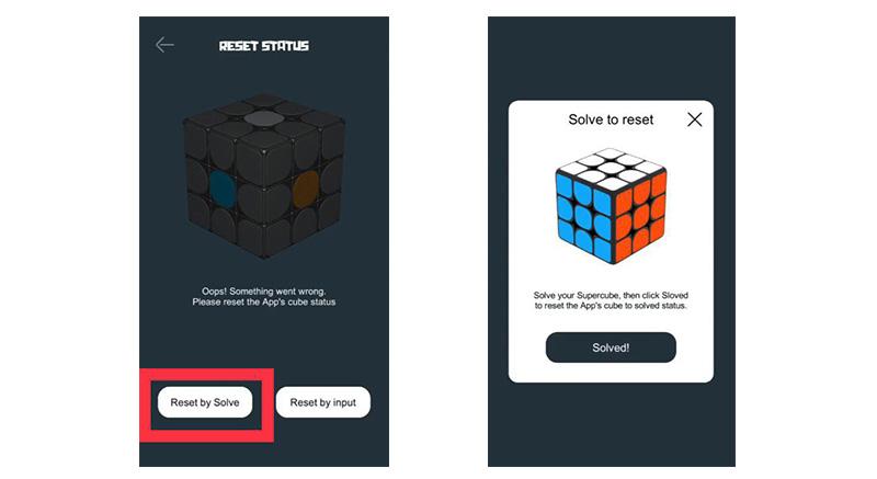 настройка умного кубик-рубика Xiaomi