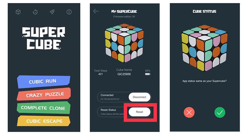настройка умного кубика-рубика Xiaomi