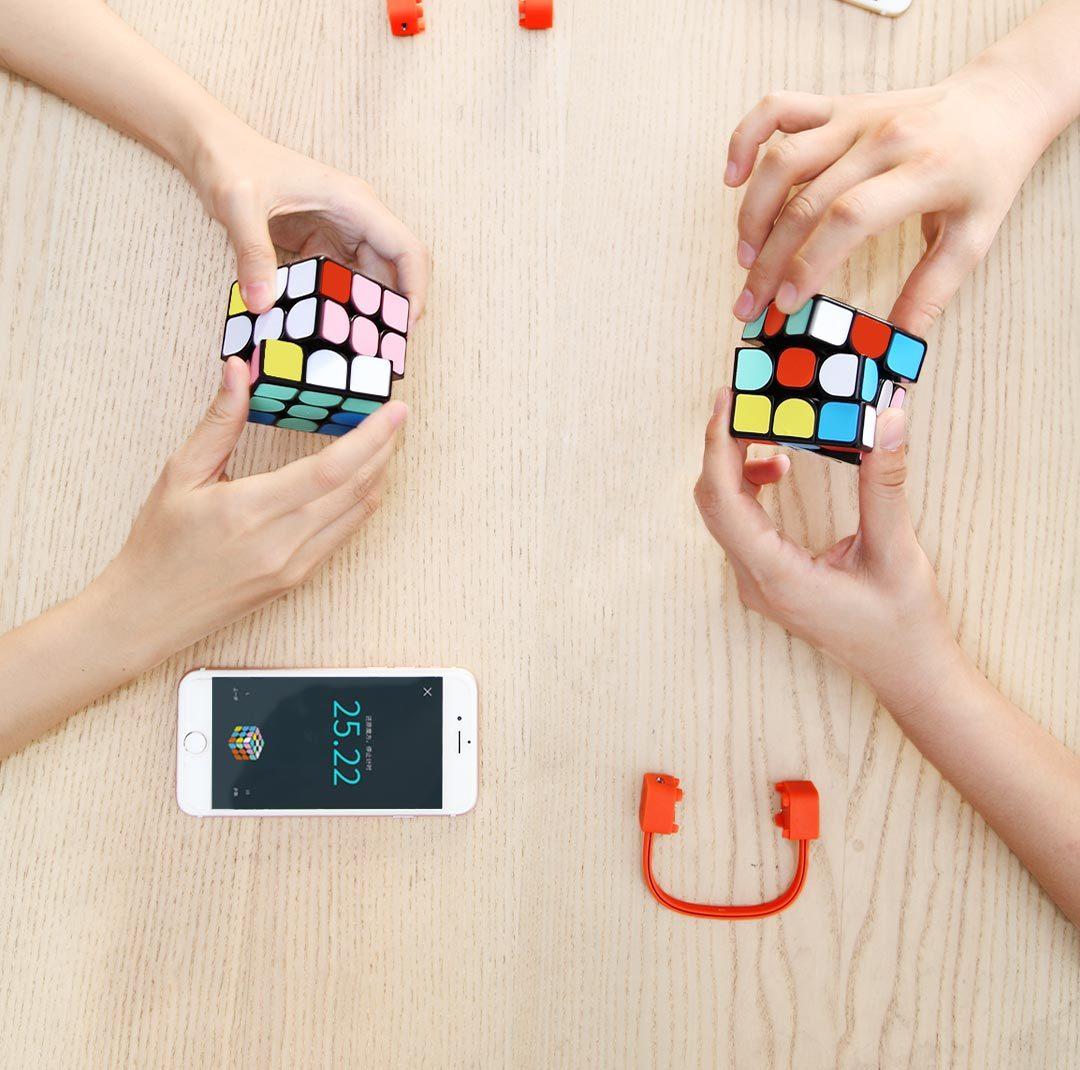 Сибирать кубик-рубика Xiaomi вместе