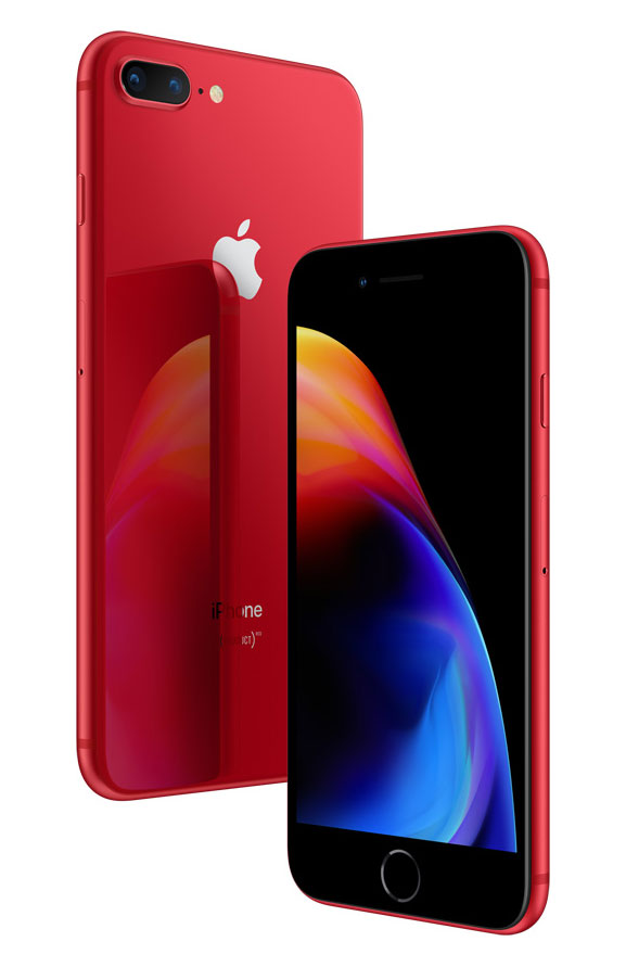 iPhone 8 и 8 Plus Product RED Special Edition