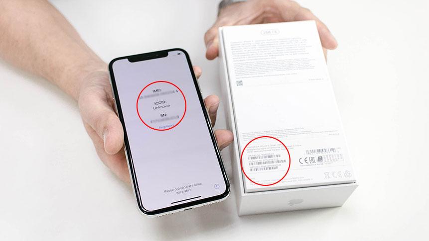 Сверка идентификационных номеров смартфона