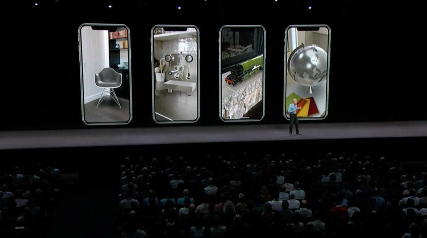 Дополненная реальность iOS 12