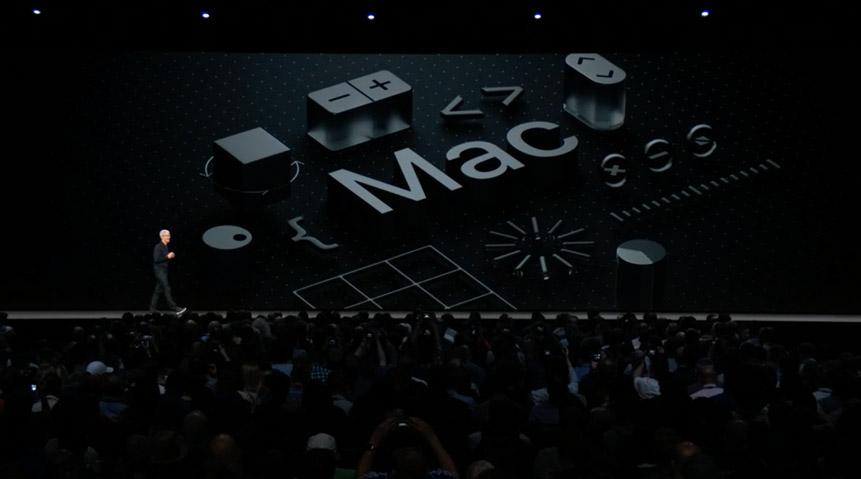 Начало презентации macOS Mojave