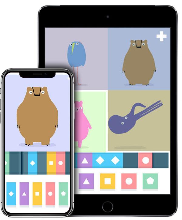 LOOPIMAL на iPhone X и iPad