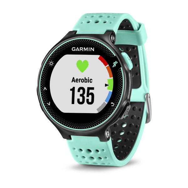 Спортивные часы Garmin Forerunner 235, голубые/черные