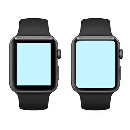Сравнение дисплеев Apple Watch 4 и 3