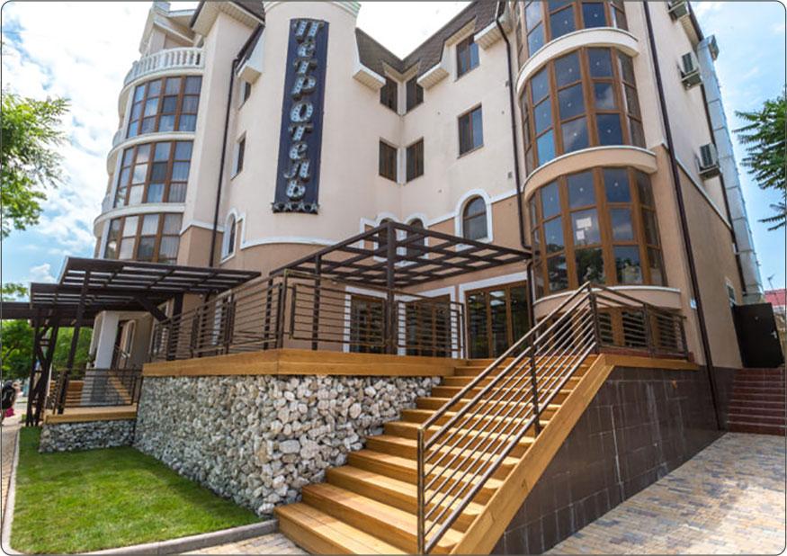 Отель Европейского уровня на Западном побережье Крыма, г. Евпатория.