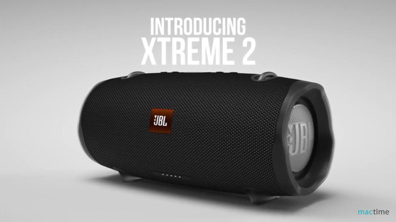 Дизайн JBL Xtreme 2