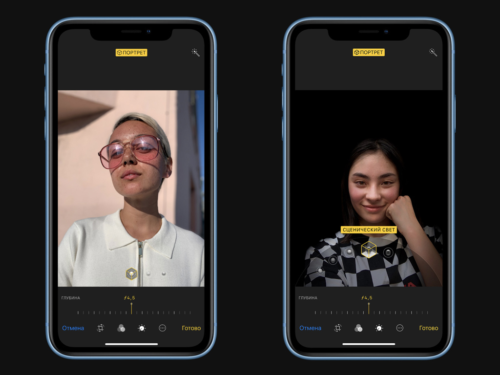 Камера iPhone XR