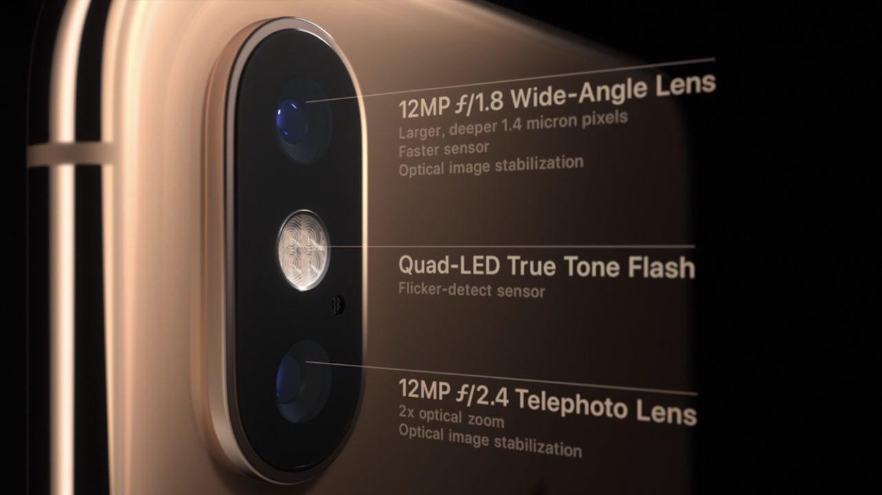 камера iPhone XS и iPhone XS Max