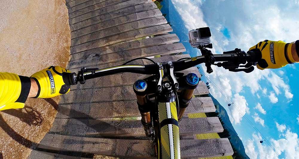 Установка камеры на велосипедный руль