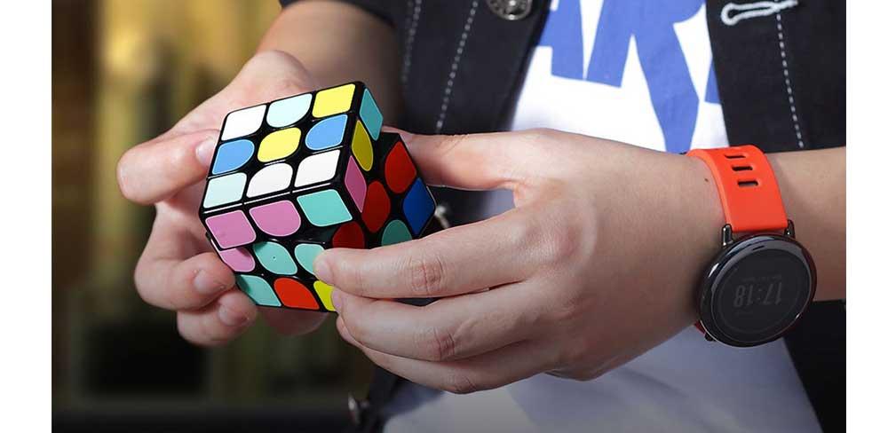 Интерактивный кубик-рубика Xiaomi Giiker Metering Super Cube-описание