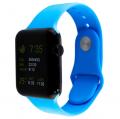 Фото спортивного ремешка для Apple Watch, белого
