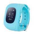 Фото умных детских часов Smart Baby Watch Q50, голубых