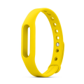 Фото ремешка для фитнес-браслета Xiaomi Mi Band, желтого