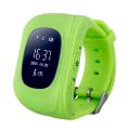 Фото умных детских часов Smart Baby Watch Q50, зеленых
