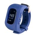 Фото умных детских часов Smart Baby Watch Q50, темно-синих