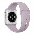 """Фото спортивного ремешка для Apple Watch 38 мм, """"лавандовый"""""""