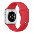Фото спортивного ремешка для Apple Watch 38 мм, красного