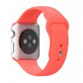 Фото спортивного ремешка для Apple Watch 38 мм, розового