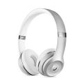 Фото беспроводных накладных наушников  Beats Solo 3 Wireless Silver