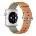 """Фото нейлонового ремешка для Apple Watch 42 мм, """"золотистого / красного"""""""