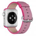 Фото нейлонового ремешка для Apple Watch 38 мм, розового