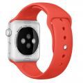 Фото спортивного ремешка для Apple Watch 42 мм, оранжевого