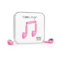 Фото наушников Happy Plugs Headphones Earbud Pink (7702)